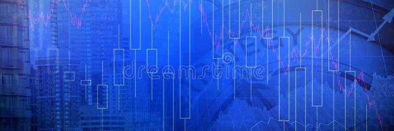 Imagem composta do texto da estratégia com gráficos e compasso navegacional imagem de stock