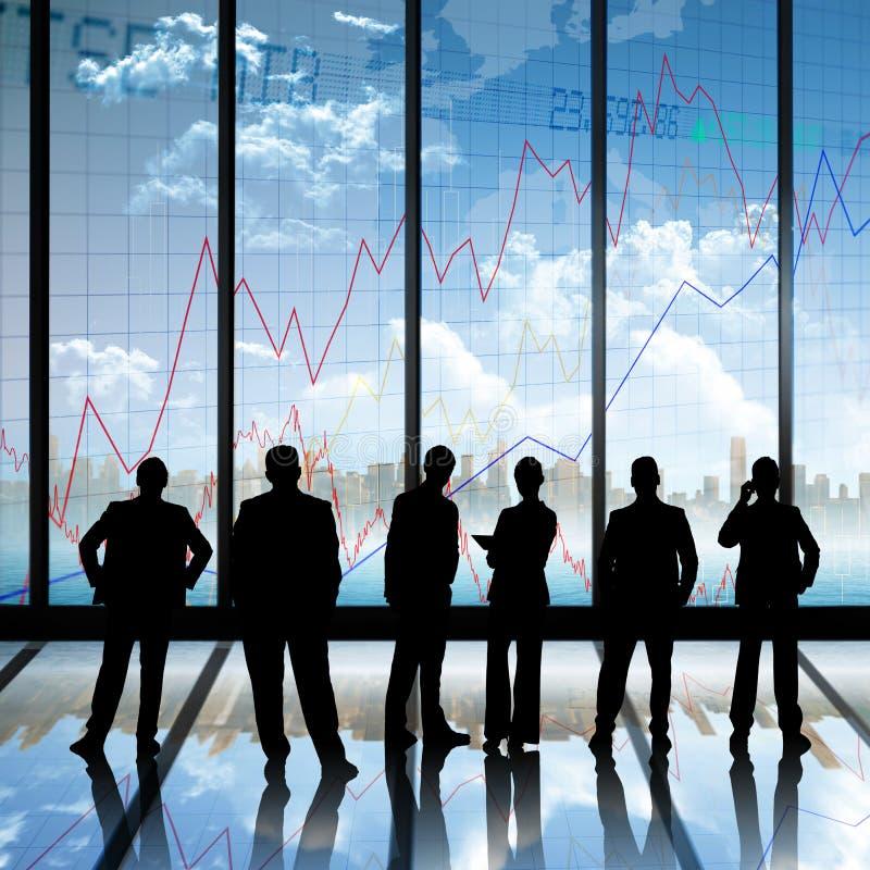 Imagem composta dos executivos fotos de stock royalty free