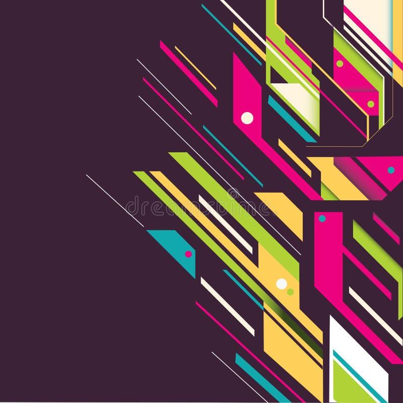 Imagem da arte abstrato ilustração stock