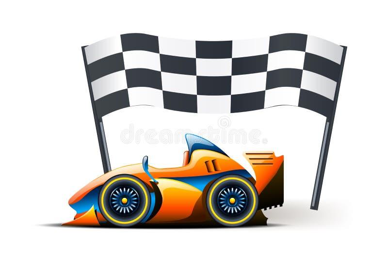 Download Imagem da bandeira ilustração do vetor. Ilustração de motor - 65581694