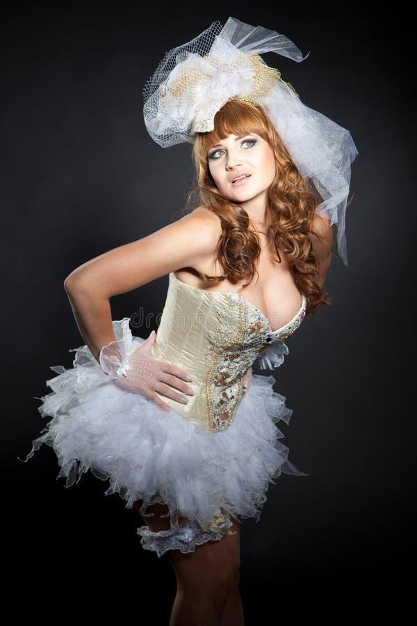 Imagem da boneca do casamento fotografia de stock royalty free