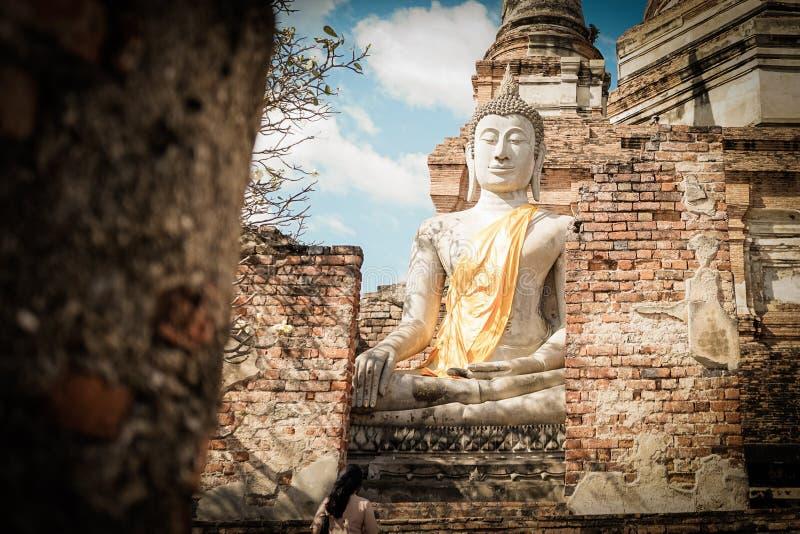 A imagem da Buda foto de stock