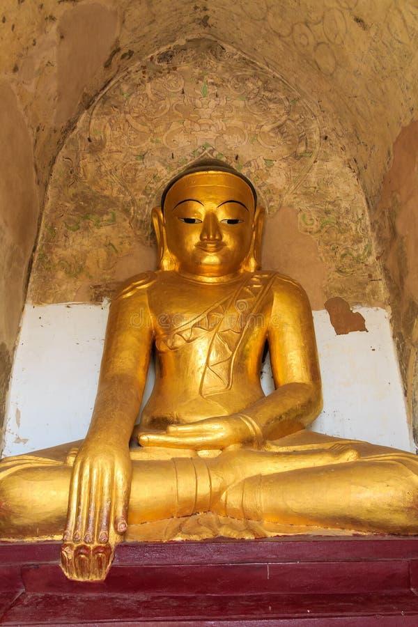 Imagem da Buda, Bagan em Myanmar (Burmar) imagens de stock