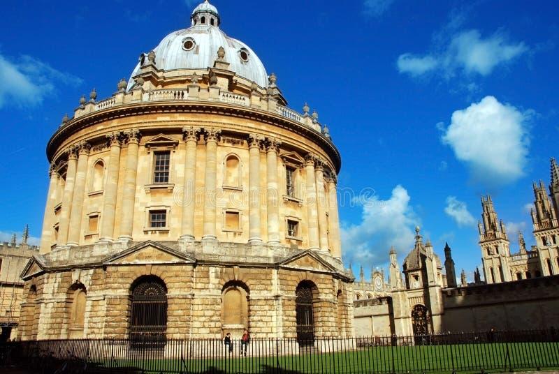 Imagem da câmera de Radcliffe, Oxford, Reino Unido foto de stock royalty free