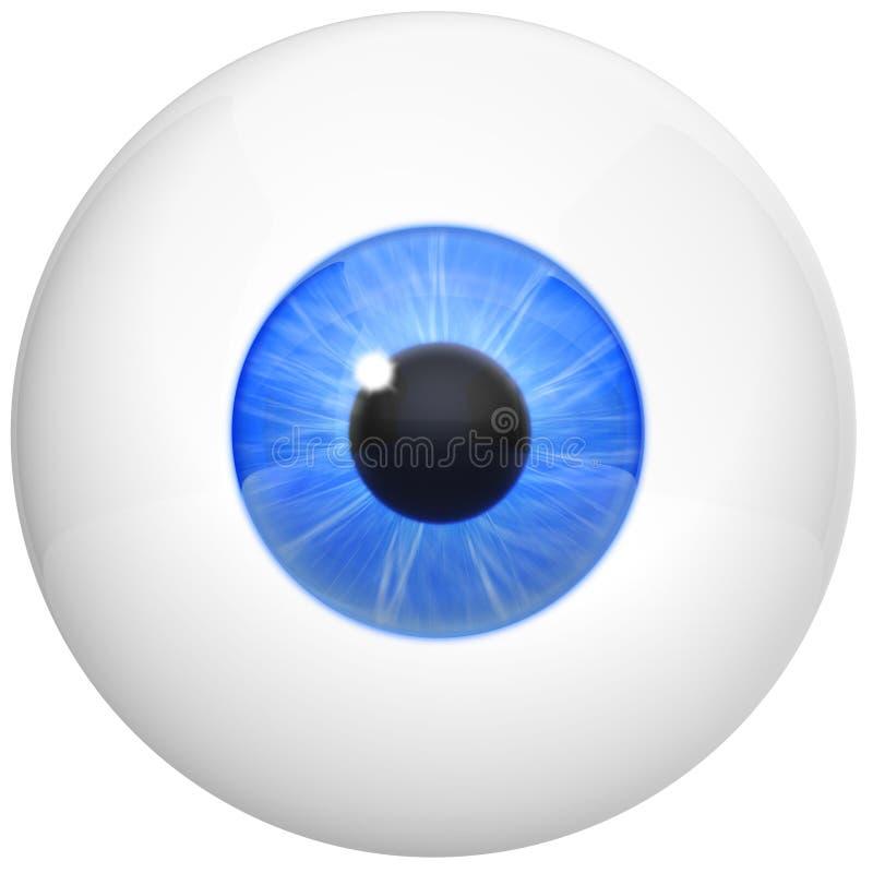 Imagem da esfera do olho ilustração royalty free