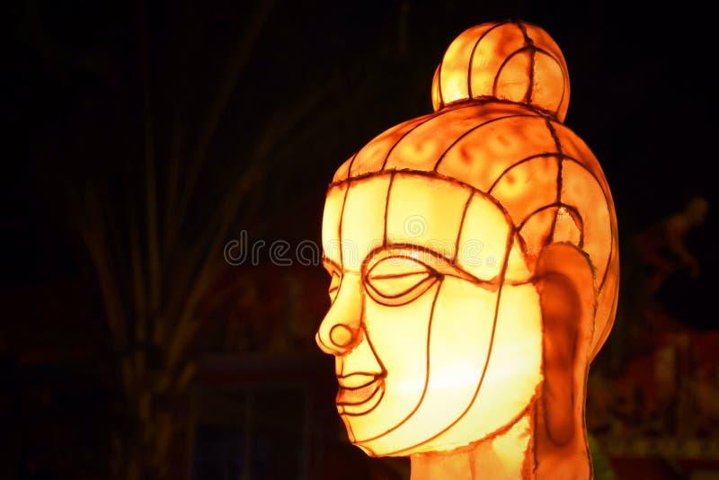 Imagem da lâmpada de buddha fotografia de stock royalty free