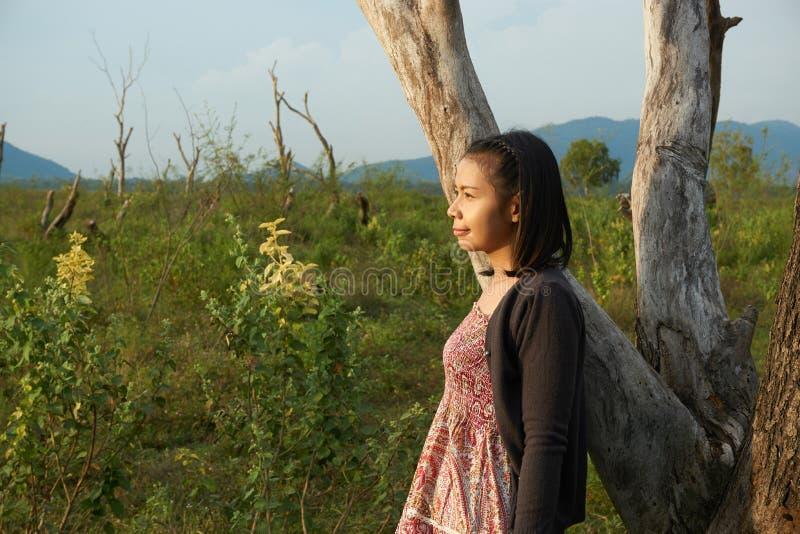 Imagem da mulher bonita asiática foto de stock royalty free