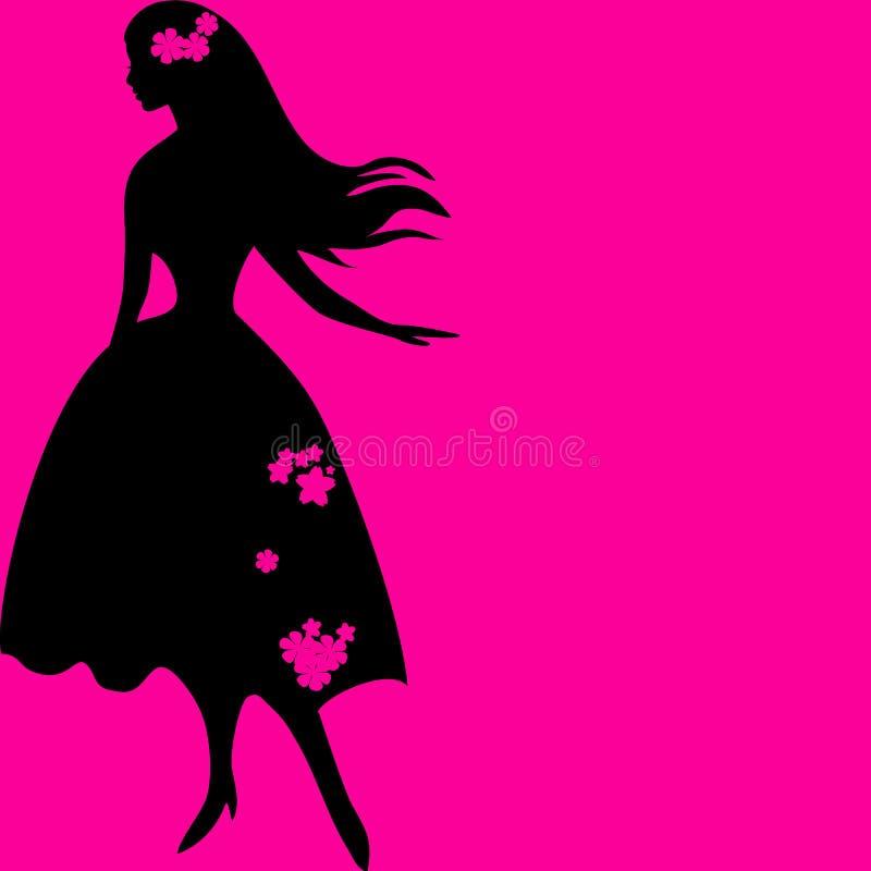 Imagem da mulher, fundo do conceito da forma imagens de stock
