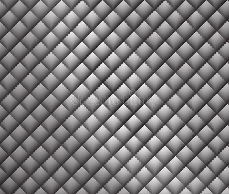 Imagem da pele do ` s do dragão da dimensão geométrica preto e branco moderna grande ilustração do vetor