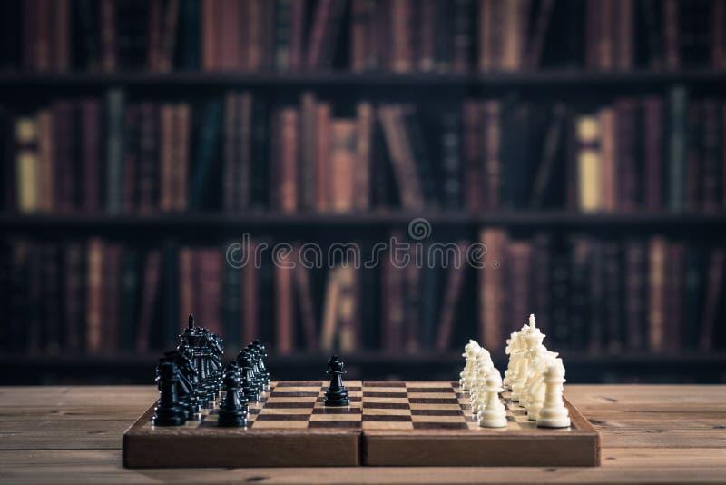 Imagem da xadrez foto de stock