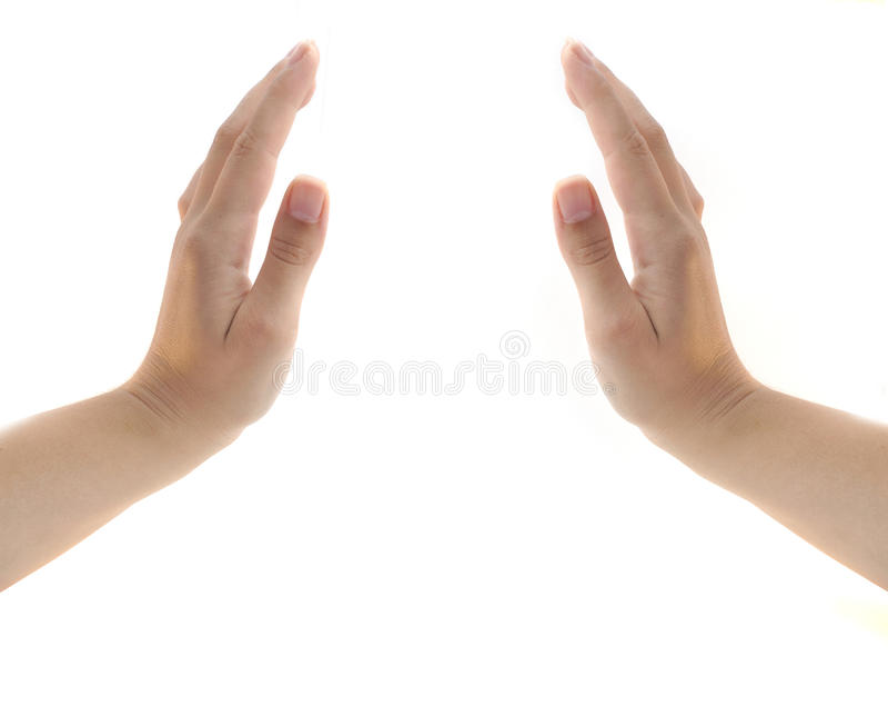Imagem das mãos fotografia de stock