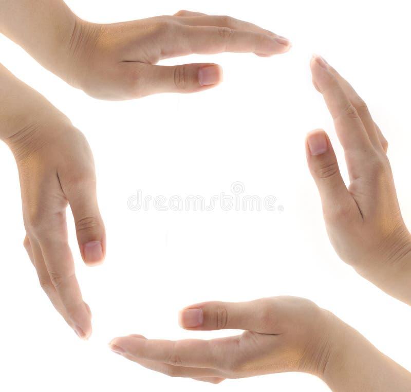 Imagem das mãos fotos de stock