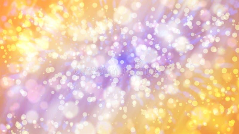 Imagem de fundo efeito-brilhante de Bokeh ilustração royalty free