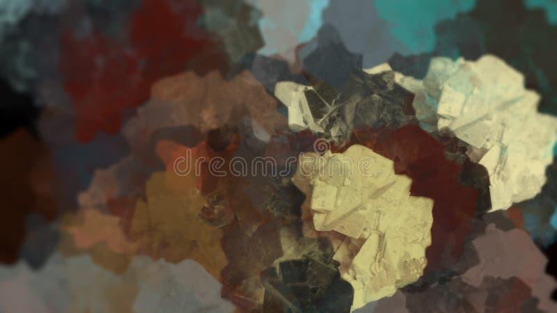 Imagem de fundo linda paisagem geológica abstrata imagem de stock