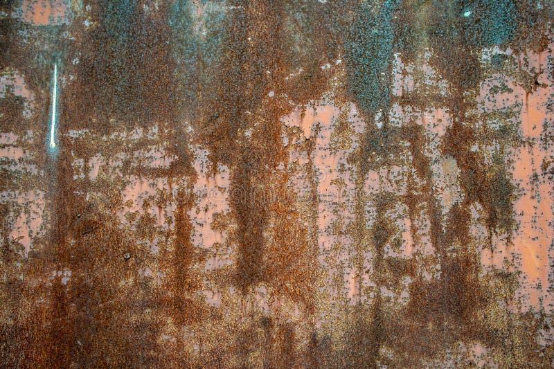 imagem de fundo oxidada da parede foto de stock