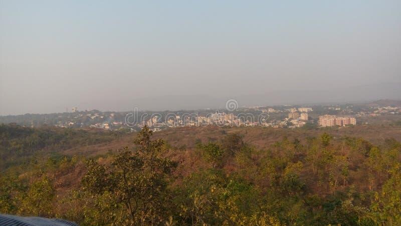 Imagem de Greenlife de um parque em jamshedpur fotos de stock royalty free