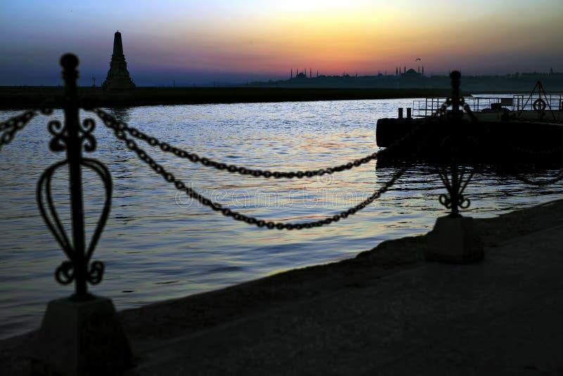 Imagem de Istambul fotos de stock royalty free
