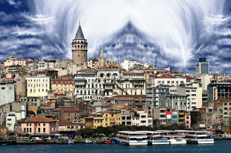 Imagem de Istambul fotografia de stock