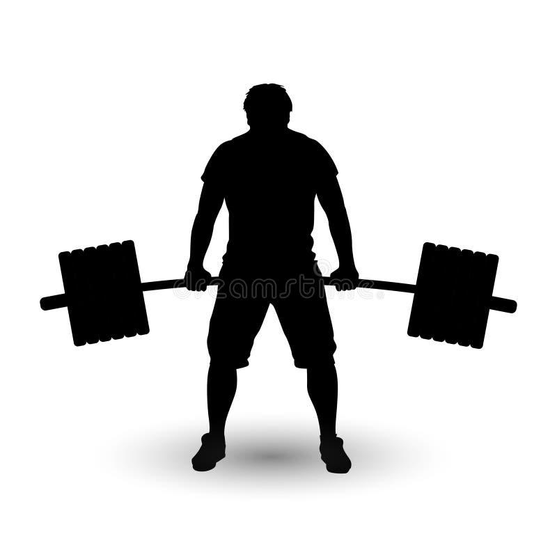 Download Imagem de sportsmen01 ilustração do vetor. Ilustração de bodybuilder - 65581709