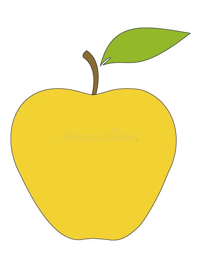Imagem de um fruto da pera ilustração do vetor