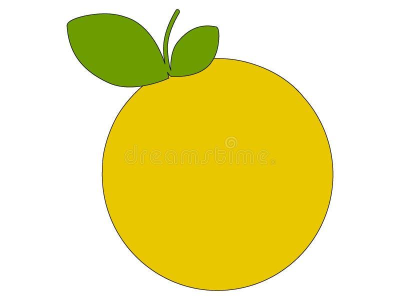 Imagem de um fruto da uva ilustração royalty free