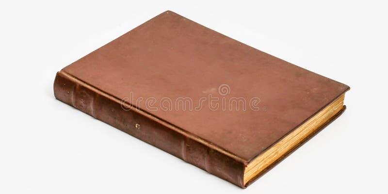 Imagem de um livro raro e antigo fotos de stock royalty free