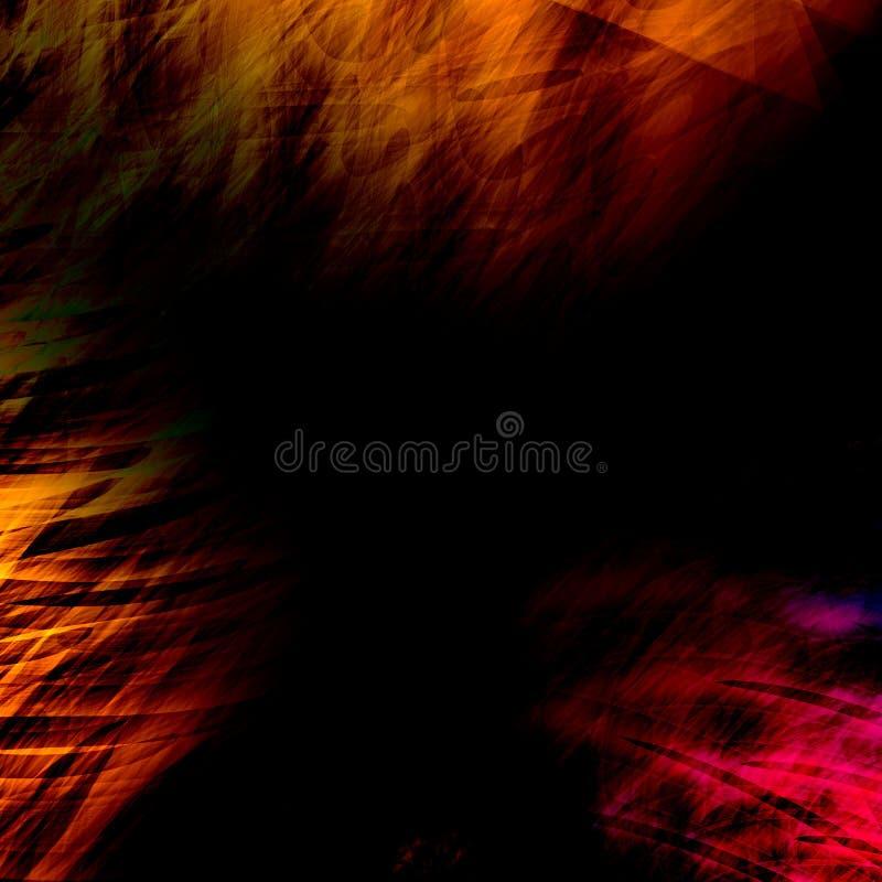 Imagem desvanecida da cor Projeto da textura do fundo Ilustração vazia da arte Efeito sujo velho da imagem Rendição abstrata do c ilustração do vetor
