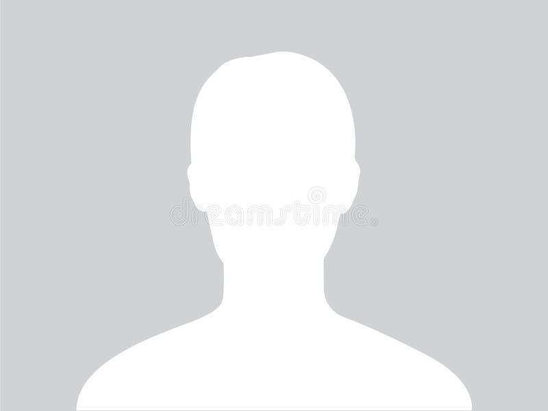 Imagem do avatar do perfil ilustração stock