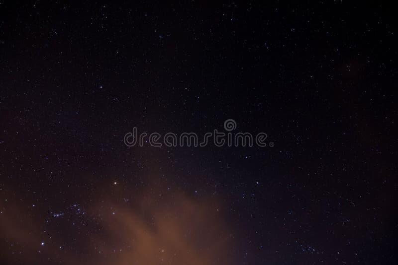 Imagem do céu noturno ilustração stock