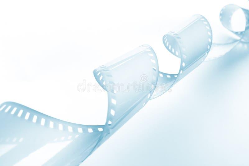 Imagem do Close-up de ondular a película de 35mm fotos de stock