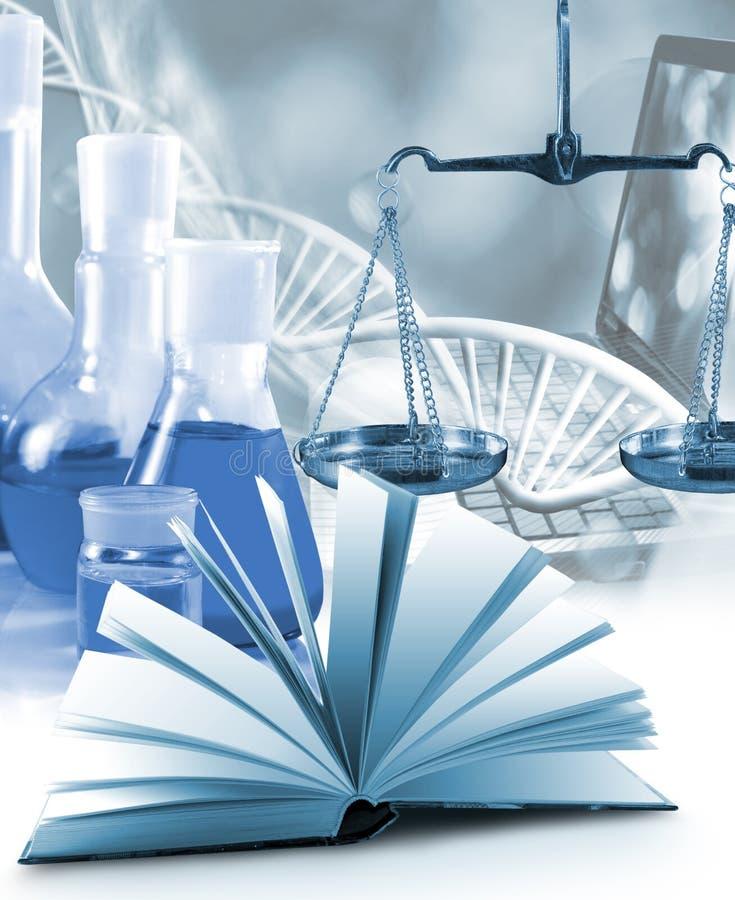 Imagem do close up do equipamento microbiológico e médico imagem de stock