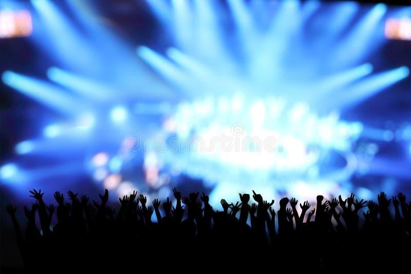 Imagem do clube noturno imagens de stock