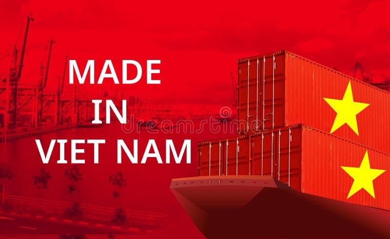 Imagem do conceito de Made in Vietnam, conceito de Economia imagem de stock royalty free