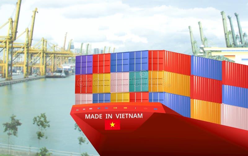 Imagem do conceito de Made in Vietnam, conceito de Economia imagens de stock royalty free