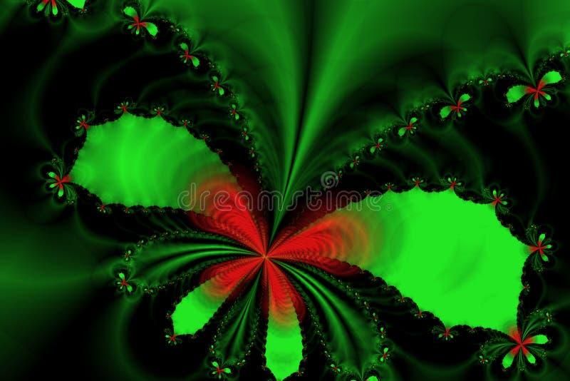 Imagem do Fractal: Voo das borboletas ilustração royalty free