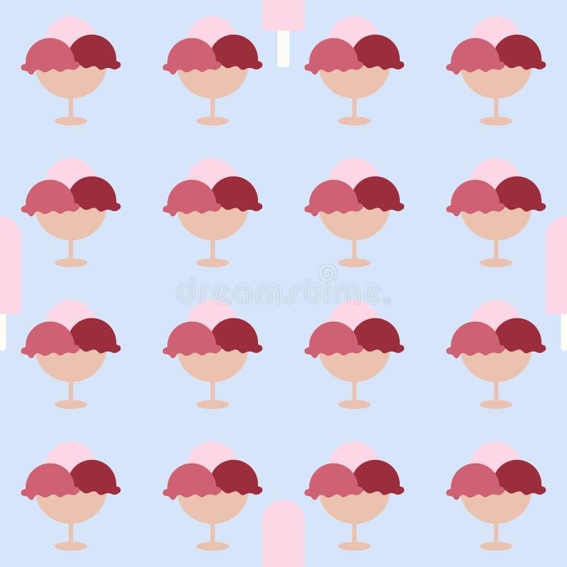 Imagem do gelado Background ilustração do vetor