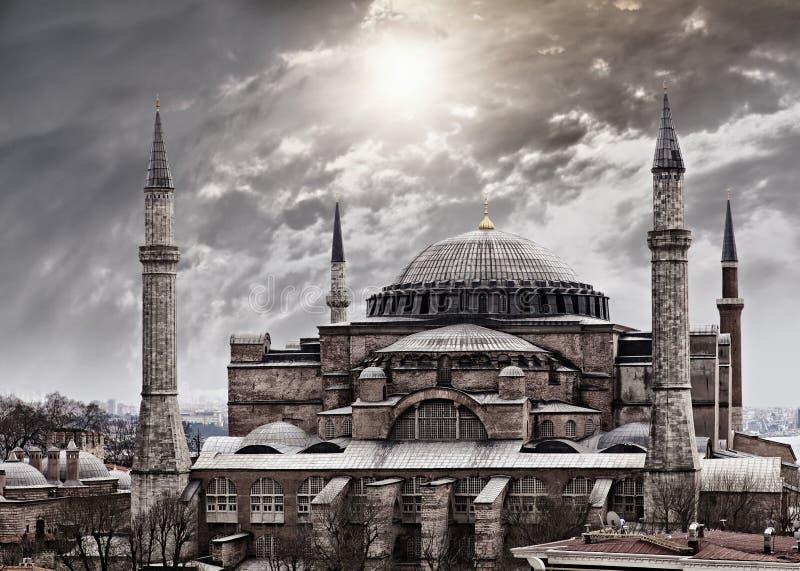 Hagia Sophia Istambul imagens de stock