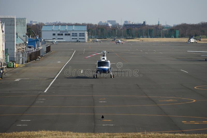 Imagem do helicóptero fotografia de stock