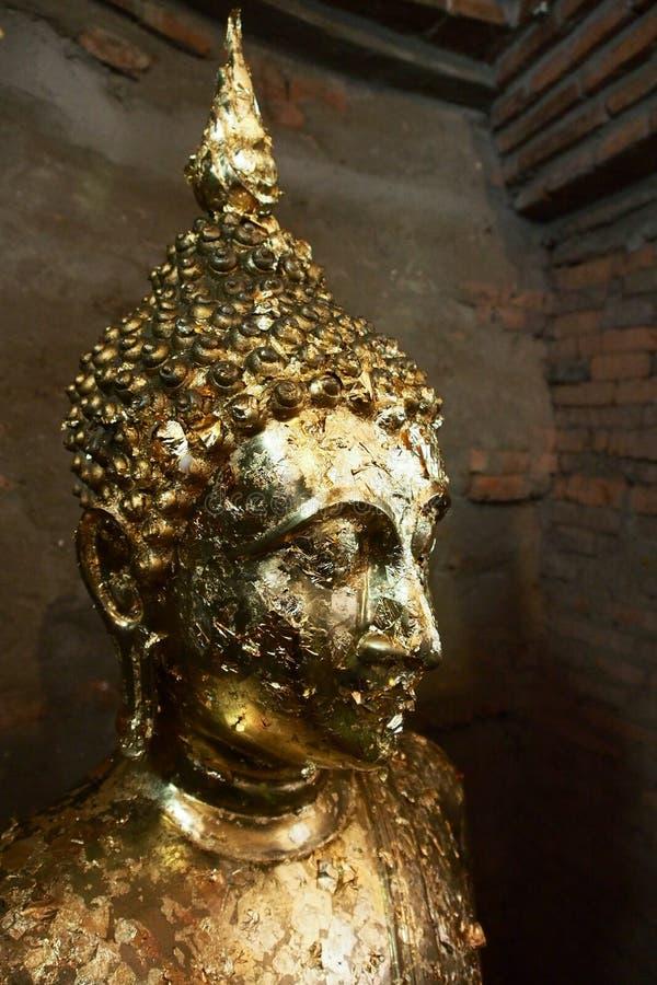 Imagem do ouro de buddha fotos de stock