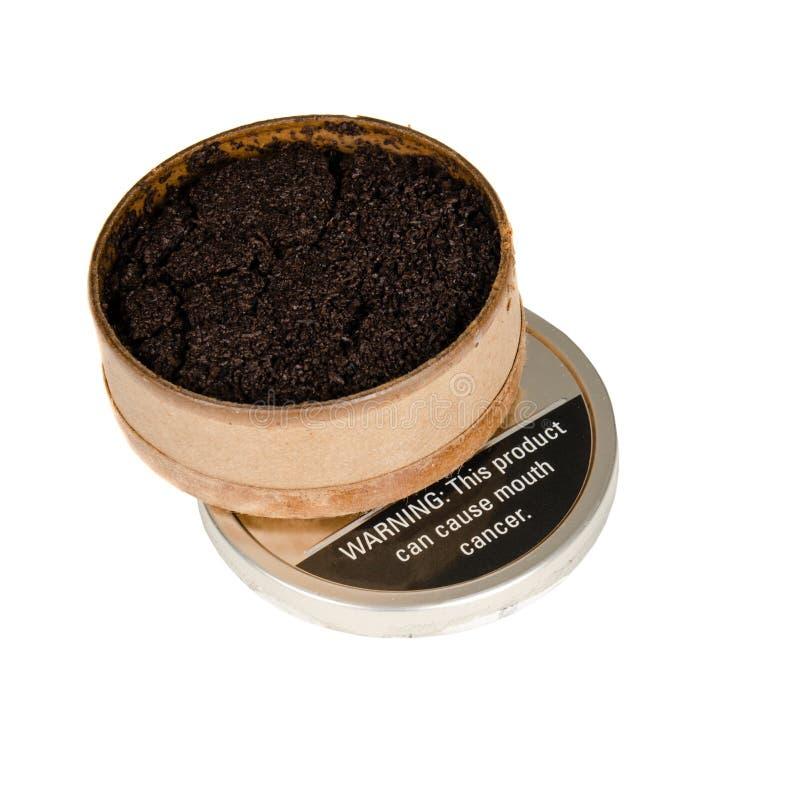 Imagem do pó para inalações do tabaco fotos de stock