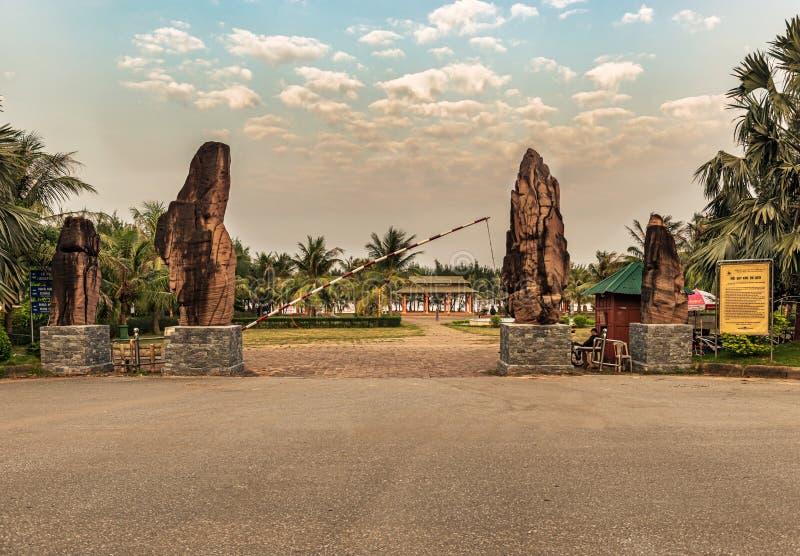 Imagem do recurso de Bai Lu em Vietname imagem de stock royalty free