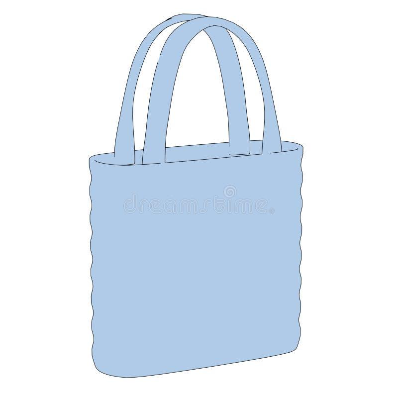 Imagem do saco de compras ilustração royalty free