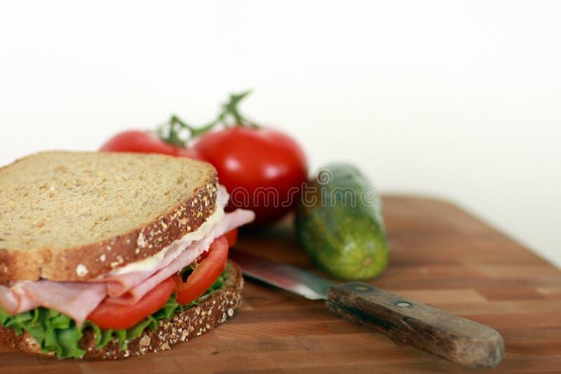 Imagem do sanduíche fotografia de stock