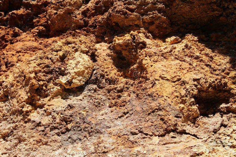 Imagem do solo vermelho fotos de stock