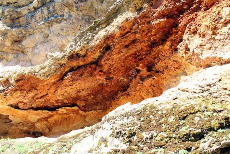 Imagem do solo vermelho foto de stock royalty free