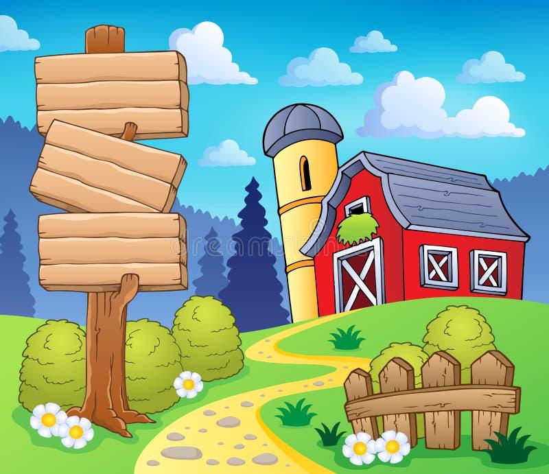 Imagem 8 do tema da exploração agrícola ilustração royalty free