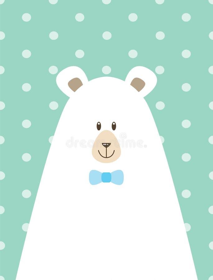 imagem do urso da papá ilustração do vetor