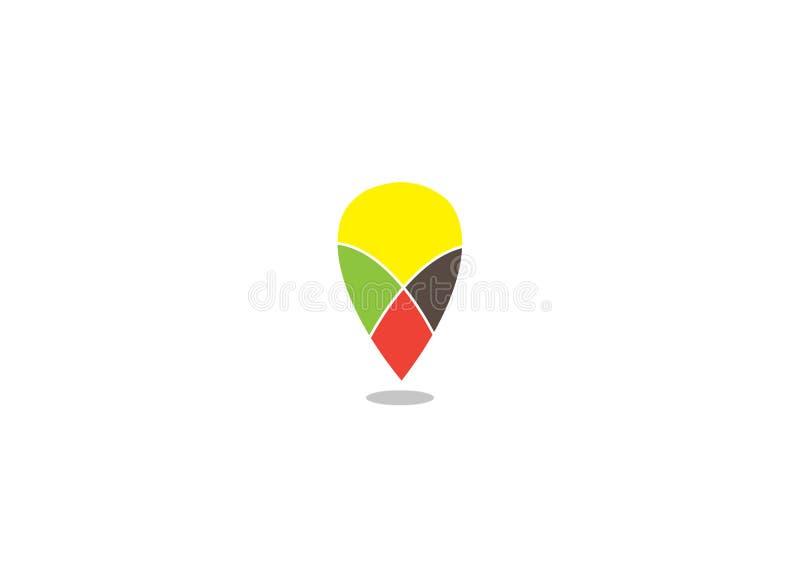 Imagem do vetor do ícone para o uso do logotipo ilustração stock