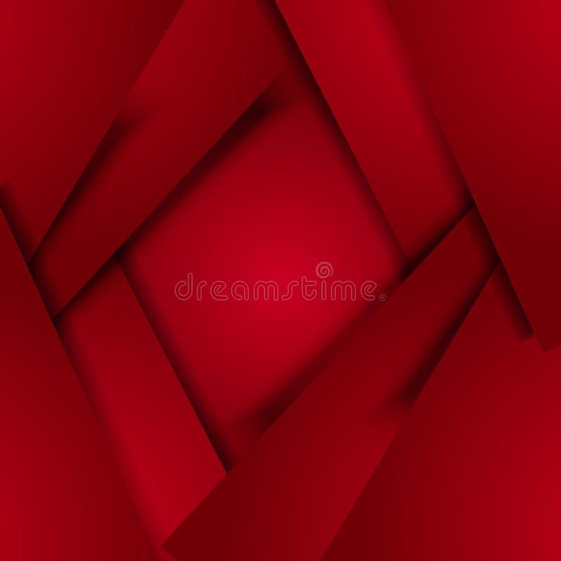 Imagem do vetor com as folhas de papel de Borgonha imagem de stock