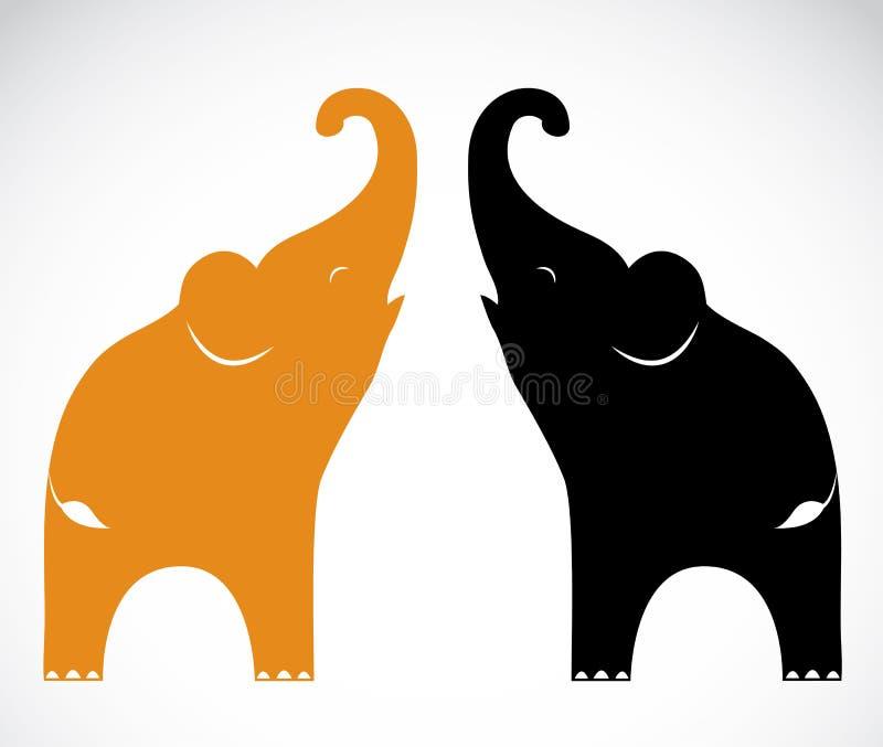 Imagem do vetor de um elefante ilustração do vetor